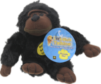 Multipet Look Who's Talking Chimp Dog Toy