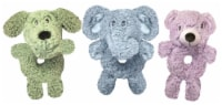 Multipet Aroma Fleece Assorted Ring-Body Dog Toy - 9.5 in