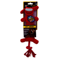 Multipet Loofa Launcher Dog Toy - Assorted - 12 in