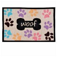 Multipet Woof Pet Bowl Mat