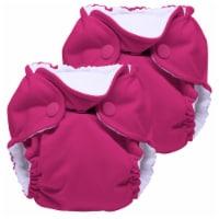 Kanga Care Lil Joey Newborn All in One AIO Cloth Diaper (2pk) Sherbert 4-12lbs - Newborn