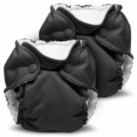 Kanga Care Lil Joey Newborn All in One AIO Cloth Diaper (2pk) Castle 4-12lbs - Newborn
