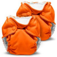 Kanga Care Lil Joey Newborn All in One AIO Cloth Diaper (2pk) Poppy 4-12lbs - Newborn