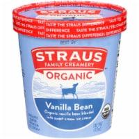 Straus Family Organic Vanilla Bean Ice Cream - 16 fl oz