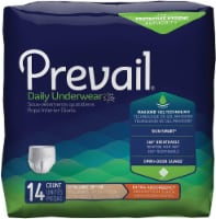 Prevail Extra Absorbency Underwear, Extra Large, 14 count (Pack of 4) - 1