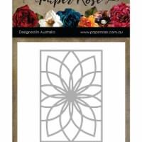 Paper Rose PR16799 Bloom 1Paper Rose Dies - Black - 1