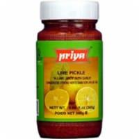 Priya Lime Pickle With Garlic - 300 Gm - 1 unit