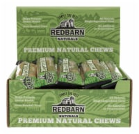 Redbarn Naturals Braided Fetcher Bully Stick Grain Free Chews For Dogs 9 in. 1 pk - 1