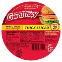 Gwaltney Thick Sliced Chicken Bologna