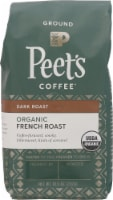 Peet's Coffee Organic French Roast Dark Roast Coffee