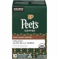 Peet's Coffee Organic Alma De La Tierra Dark Roast Coffee K-Cup Pods - 10 ct