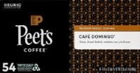 Peet's Coffee Cafe Domingo Medium Roast Coffee K-Cup Pods 54 Count