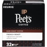 Peet's Coffee French Dark Roast Coffee K-Cup Pods 32 Count