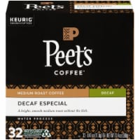 Peet's Coffee Decaf Especial K-Cup Pods 32 Count