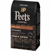 Peet's Coffee Single Origin Ethiopia Dark Roast Ground Coffee