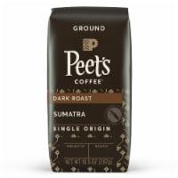 Peet's Coffee Single Origin Sumatra Dark Roast Ground Coffee