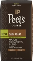 Peet's Coffee Decaf Major Dickason's Blend Dark Roast Ground Coffee