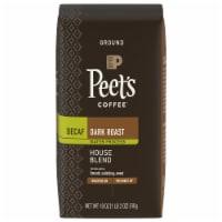 Peet's Coffee Decaf House Blend Dark Roast Ground Coffee - 18 oz
