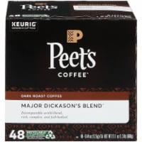 Peet's® Coffee Major Dickason's Dark Roast Coffee K-Cup Pods - 48 ct
