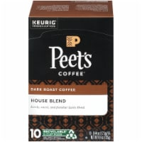 Peet's Coffee House Blend Dark Roast K-Cup Pods