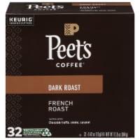 Peet's Coffee French Roast Dark Roast Coffee K-Cup Pods - 32 ct