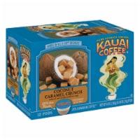 Kauai Coffee Coconut Caramel Crunch Single-Serve pods, 12 Count - 12 Count