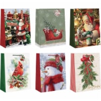 Paper Images Large Traditional Paper Gift Bag CGBA3-197 Pack of 12 - 12