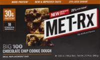 Met-Rx Big 100 Chocolate Chip Cookie Dough Bar - 3.52 oz