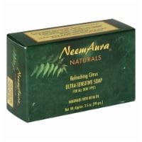 Neem Aura Naturals Refreshing Citrus Ultra Sensitive Soap - 3.5 oz