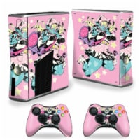 MightySkins XBOX360S-Orc Girl Skin for Xbox 360 S Console, Orc Girl - 1