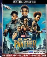 Black Panther (2018 - 4K Ultra HD/Blu-Ray/Digital Code) - 1 ct