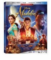 Aladdin Live Action (2019 - Blu-Ray / DVD / Digital Code)