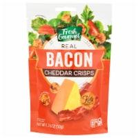 Fresh Gourmet Bacon Cheddar Gluten Free Salad Crisps
