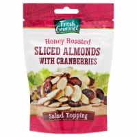 Fresh Gourmet Honey Roasted Almond & Cranberries Salad Topping