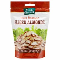 Fresh Gourmet Oven Roasted Sliced Almonds Salad Topping