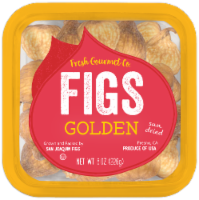 Fresh Gourmet Sun Dried Golden Figs