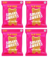 SmartSweets Smart Sweets, Gummy Bears Fruity, 1.8 Ounce (Pack of 4) - 4 Pack/1.8 Ounce