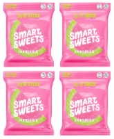 SmartSweets Sourmelon Bites, Candy with Low Sugar (3g), Low Calorie, 1.8 oz (Pack of 4) - 4 Pack/1.8 Ounce