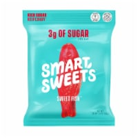 Smart Sweets Sweet Fish, Low Sugar Gummy Candy, Plant-Based, 1.8oz. (Pack of 1)