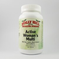 Holly Hill Health Foods, Active Women's Multi, 180 Tablets - 180