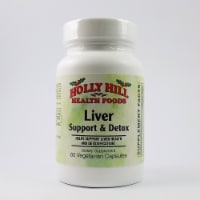 Holly Hill Health Foods, Liver Support & Detox, 60 Vegetarian Capsules - 60