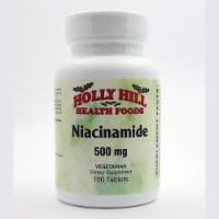 Holly Hill Health Foods, Niacinamide, 100 Tablets - 100