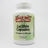 Holly Hill Health Foods, Lecithin 1200 MG, 100 Softgels - 100