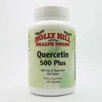Holly Hill Health Foods, Quercetin Plus 500 MG, 100 Tablets - 100