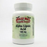 Holly Hill Health Foods, Alpha Lipoic Acid 100 MG, 120 Capsules - 120