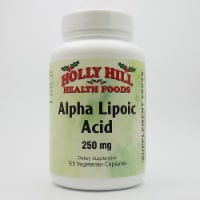 Holly Hill Health Foods, Alpha Lipoic Acid 250 MG, 120 Vegetarian Capsules - 120