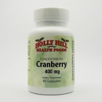 Holly Hill Health Foods, Cran-Max Concentrated Cranberry 400 MG, 60 Capsules - 60