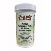 Holly Hill Health Foods Active Women's 50+ 85 Billion Probiotic Formula, 60 Vegetarian Caps - 60