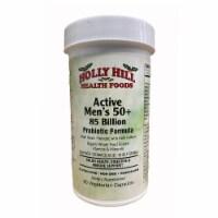 Holly Hill Health Foods Active Men's 50+ 85 Billion Probiotic Formula, 60 Vegetarian Caps - 60