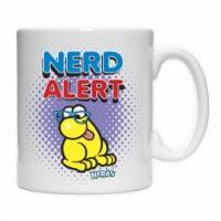 Imaginarium Goods CMG11-NES-ALERT 11 oz. Coffe Mug, Nerd Alter